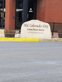 A alk to Old Colorado City
